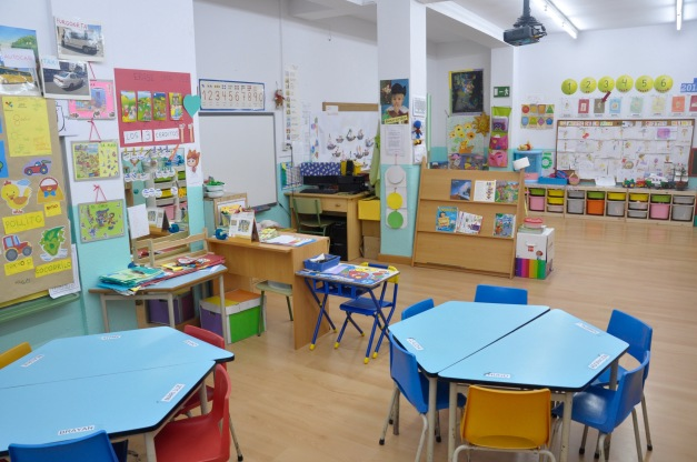 Aulas de Infantil